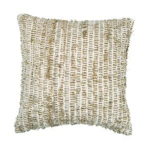 Beżowa poduszka dekoracyjna ZicZac Rustic, 45x45 cm