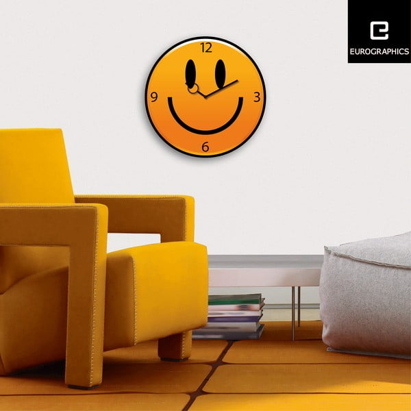 Zegar Just Smile, 30 cm