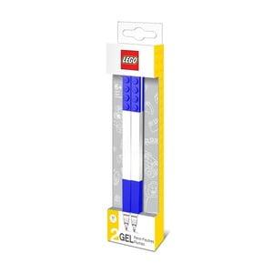 Komplet 2 niebieskich długopisów żelowych LEGO®