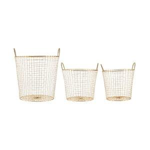 Komplet 3 koszyków Goldie Trio