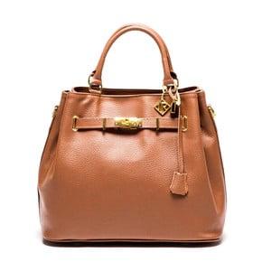 Skórzana torebka Bombay 183 Cognac