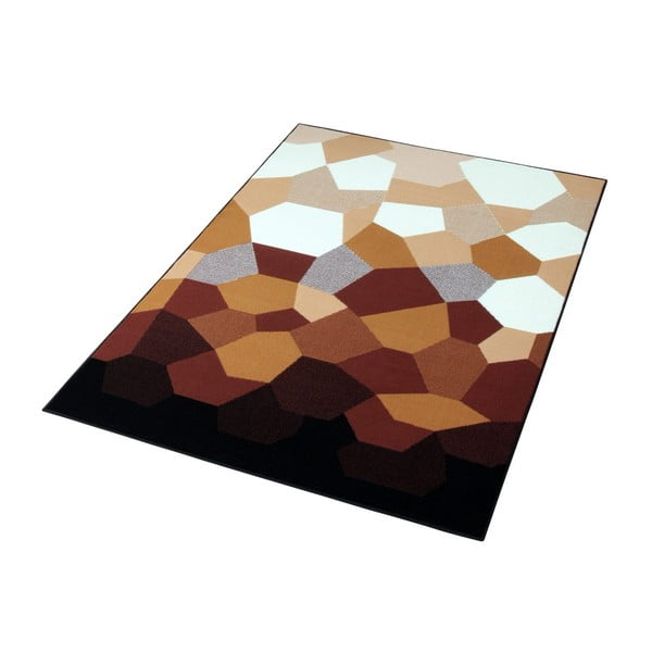 Dywan Hanse Home Prime Pile Abstract Caramel, 80 x 150 cm