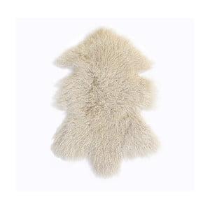 Kremowy, wełniany dywan z owczej skóry Auskin Toran, 60x80 cm