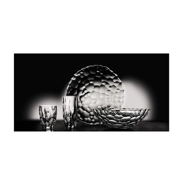 Komplet 2 talerzy deserowych ze szkła kryształowego Nachtmann Sphere, ⌀ 23 cm