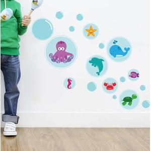 Naklejka dekoracyjna na ścianę Bubble Sea