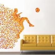 Naklejka na ścianę Piłkarz, 90x120 cm