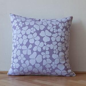 Poduszka z wypełnieniem Light Violet Flowers, 50x50 cm