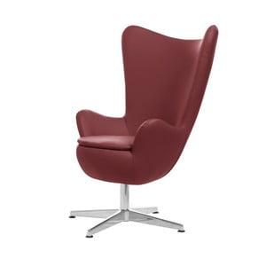Czerwony fotel obrotowy My Pop Design Gentils