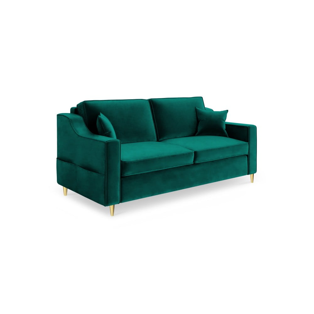 Zielona sofa 2-osobowa Mazzini Sofas Marigold