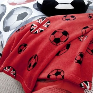 Koc Football Red, 127x143 cm