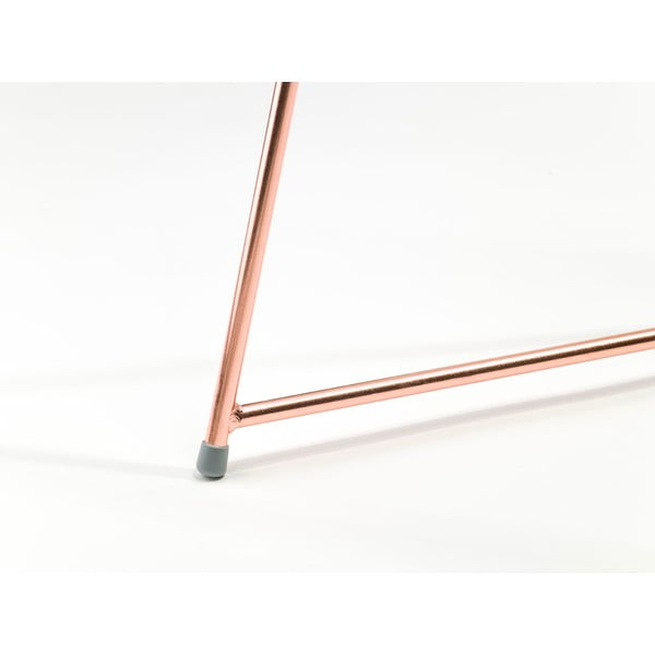 Dwie nogi do stołu Diamond Narrow Copper, 70x55 cm