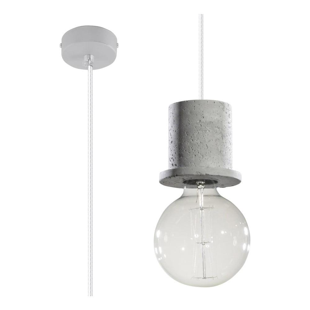 Szara lampa wisząca Nice Lamps Bresso