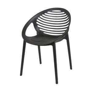 Czarne krzesło Canett Elements