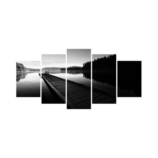 Wieloczęściowy obraz Black&White no. 69, 100x50 cm