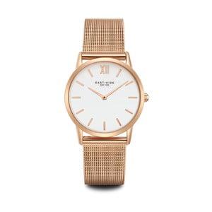 Zegarek damski w kolorze różowego złota z białym cyferblatem Eastside Upper Union