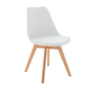 Krzesło Carisse, białe