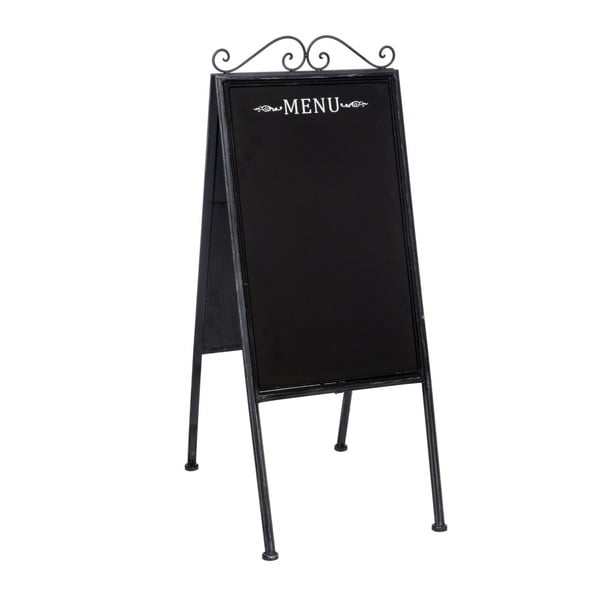 Tablica Antic Menu, 41x57x100 cm