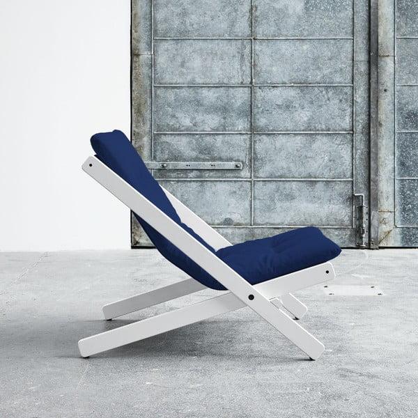 Fotel składany Karup Boogie White/Royal