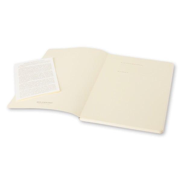Biały mininotes Moleskine Volant, strony w linie