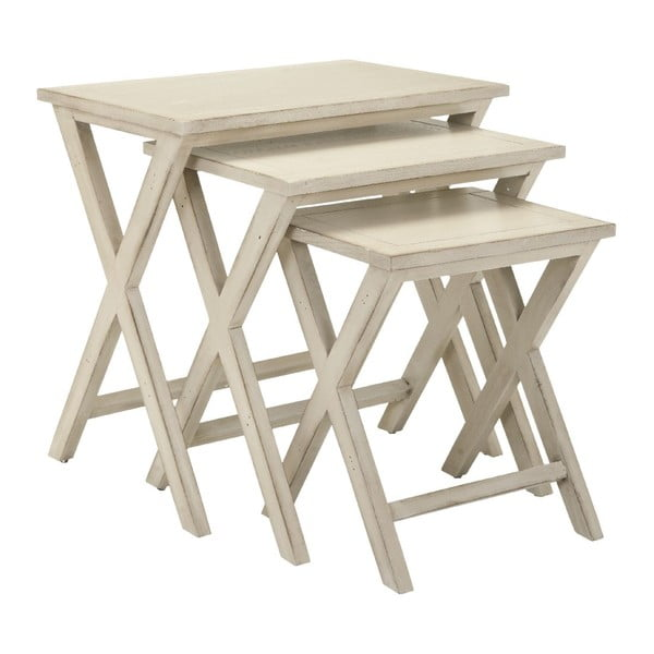 Komplet 3 stolików Karina