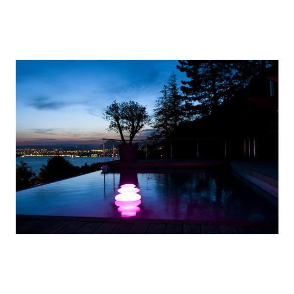 Nastrojowa lampa ogrodowa Zen, 42x28 cm