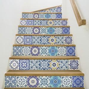 Zestaw 2 naklejek na schody Ambiance Romina, 15x105 cm