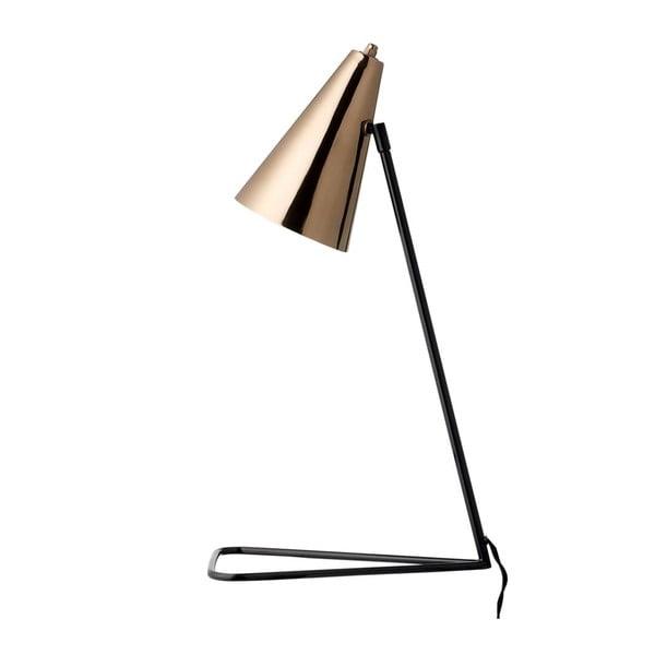 Miedziana lampa stołowa Cobre