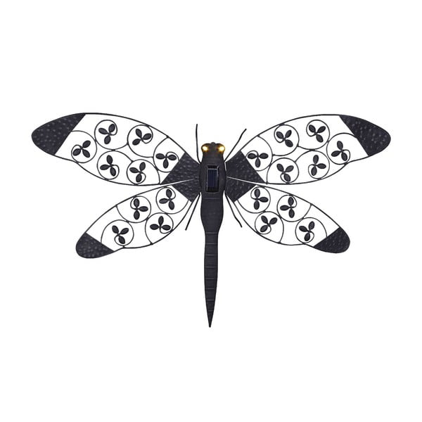 Słoneczny kinkiet ogrodowy Dragonfly