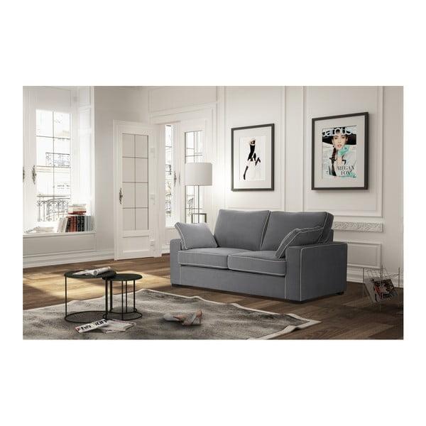 Sofa 2-osobowa Jalouse Maison Serena, szara