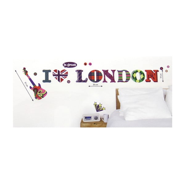 Naklejka I Love London