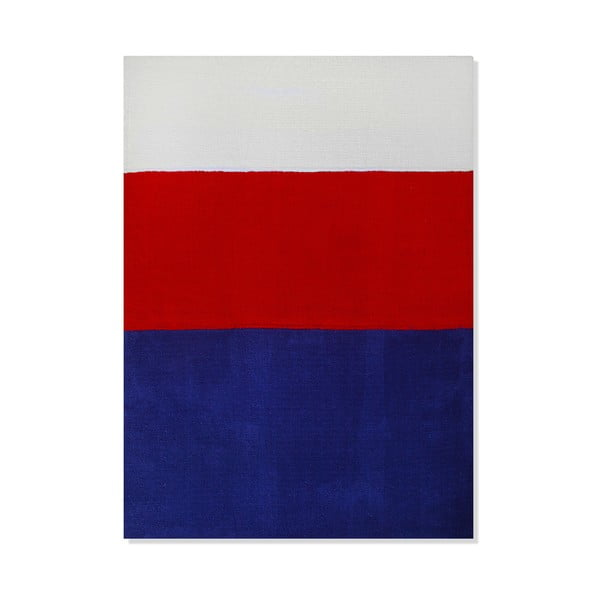 Dywan dziecięcy Mavis Blue and Red Stripes, 120x180 cm