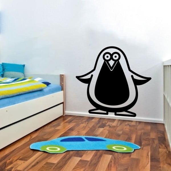 Naklejka ścienna Penguin, czerń