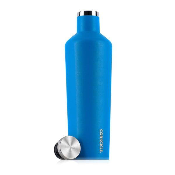 Niebieska butelka termoaktywna Corkcicle Canteen Hawaiian, 740 ml