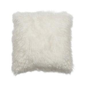Beżowa poduszka J-Line Fur