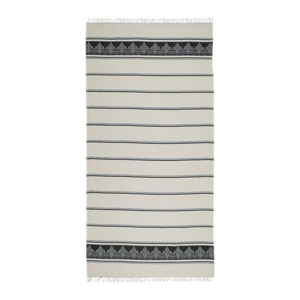 Ręcznik hammam Loincloth Dilru Blue, 80x170 cm