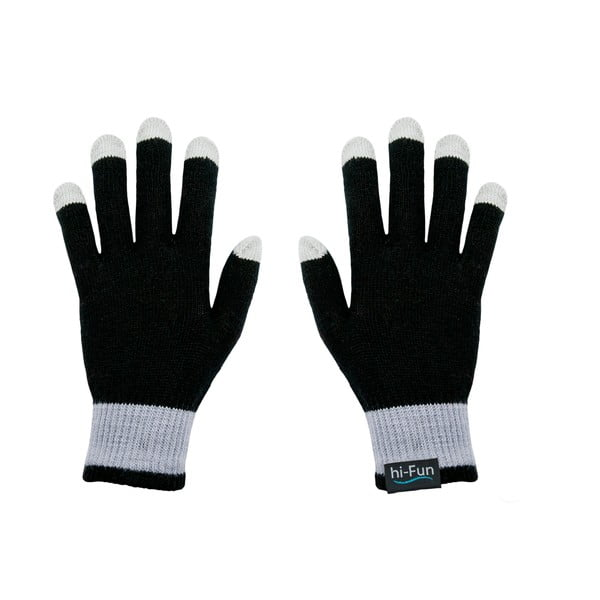 Rękawiczki dotykowe Hi-Glove, czarne
