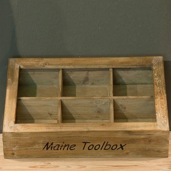Drewniane pudełko Scatola