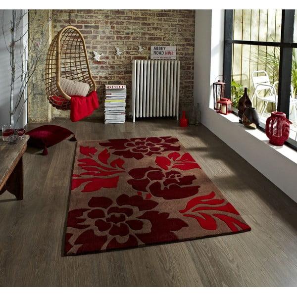 Dywan Hong Kong Brown Red, 120x170 cm