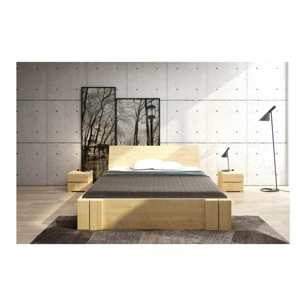 Szafka nocna z drewna sosnowego z 2 szufladami SKANDICA Vestre