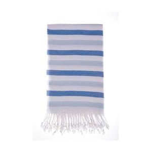 Ręcznik hammam Didim Dark Blue, 100x180 cm