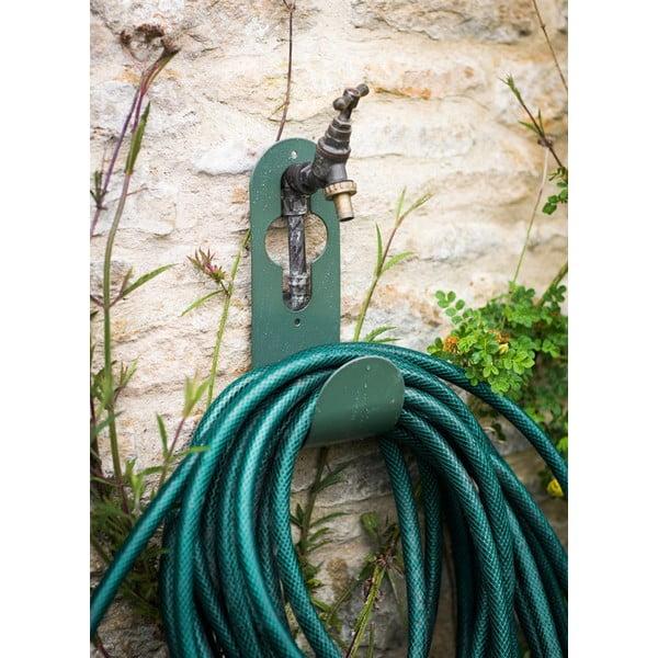 Naścienny uchwyt na wąż ogrodowy Tap