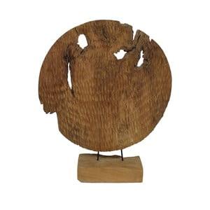 Dekoracja z drewna tekowego HSM Collection Garit