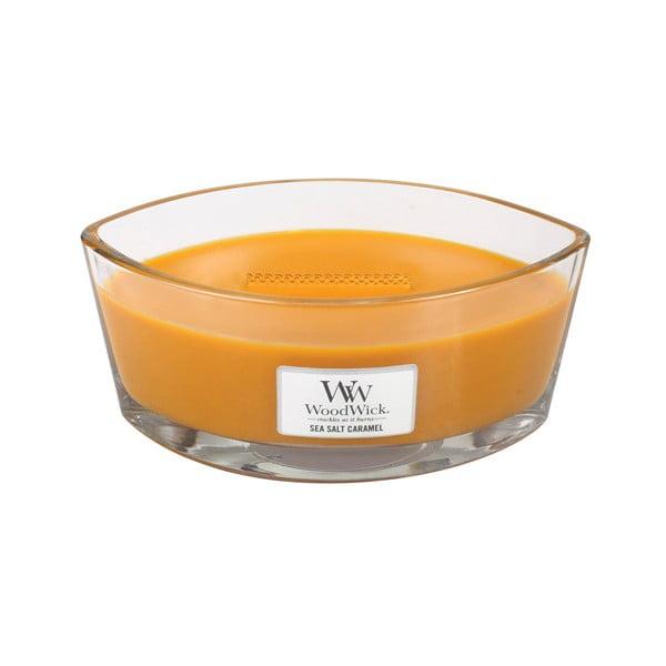 Świeczka zapachowa WoodWick Morska sól i karmel, 453g