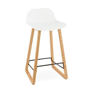 Bílá barová židle Kokoon Astoria