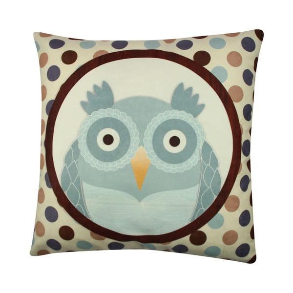 Poduszka Owl No. 4, 43x43 cm