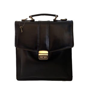 Skórzana torba Barolo, czarna