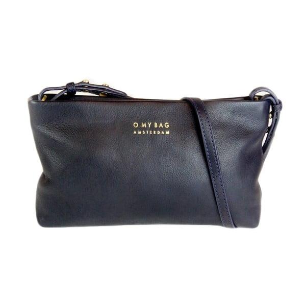 Skórzana torebka/kopertówka O My Bag Dashing Daisy Midnight Blue