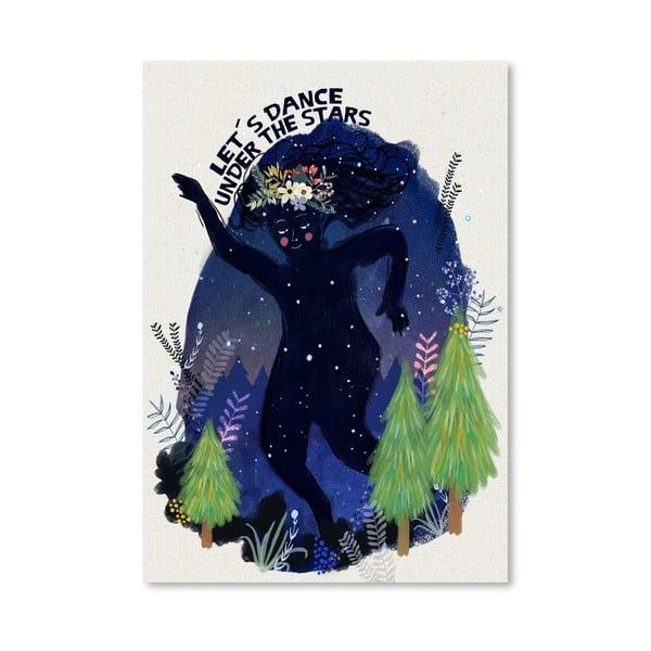 Plakat (projekt: Mia Charro) - Dance Under The Stars