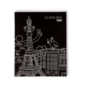 Notes do kolorowania Paris