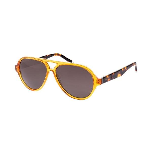 Męskie okulary przeciwsłoneczne GANT Aviator Orange